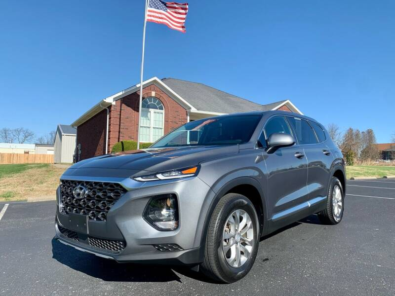 2019 Hyundai Santa Fe for sale at HillView Motors in Shepherdsville KY
