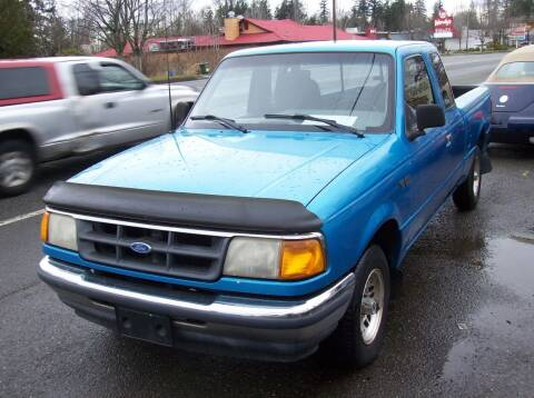 1994 Ford Ranger for sale at Main Street Motors in Bellingham WA