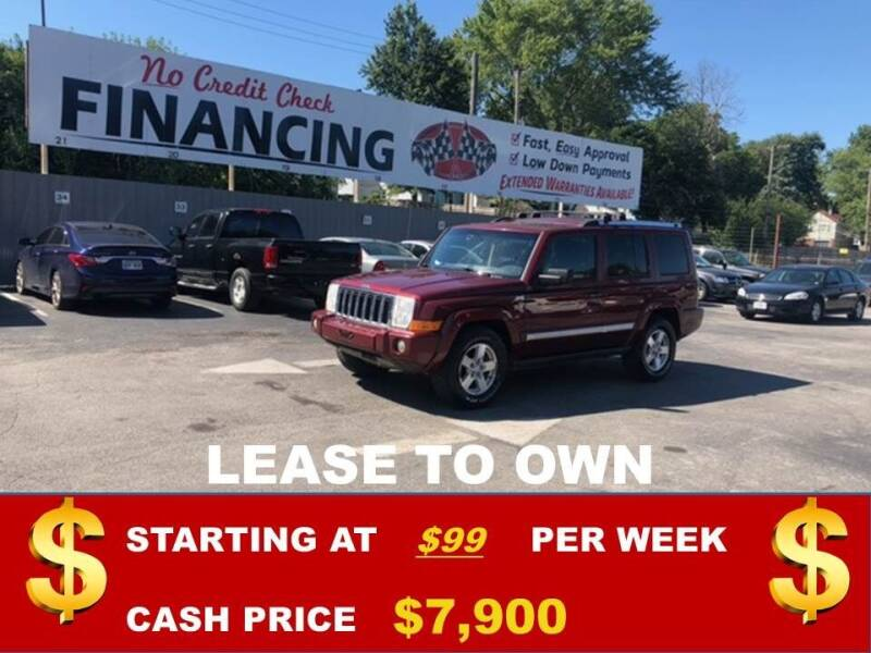 2008 Jeep Commander for sale at Auto Mart USA in Kansas City MO