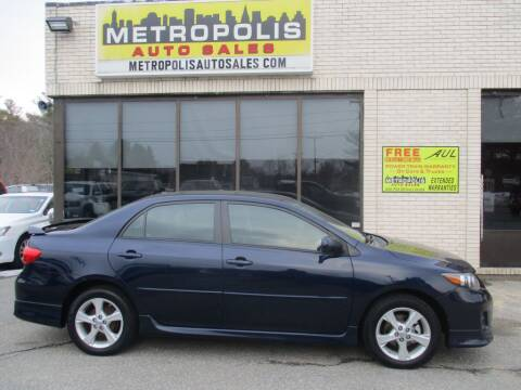 2011 Toyota Corolla for sale at Metropolis Auto Sales in Pelham NH