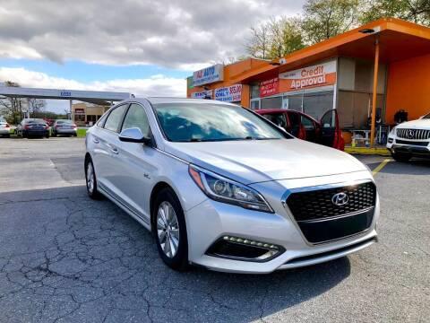 2016 Hyundai Sonata Hybrid for sale at AZ AUTO in Carlisle PA