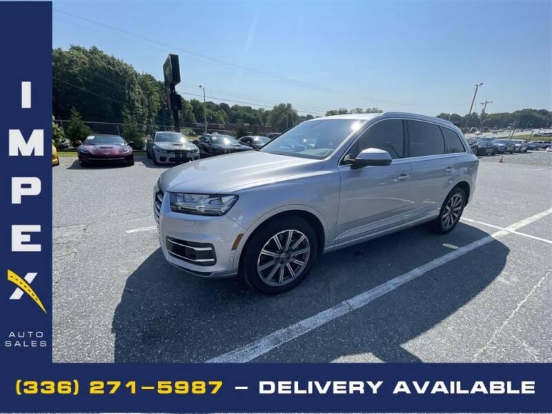 2019 Audi Q7 for sale at Impex Auto Sales in Greensboro NC