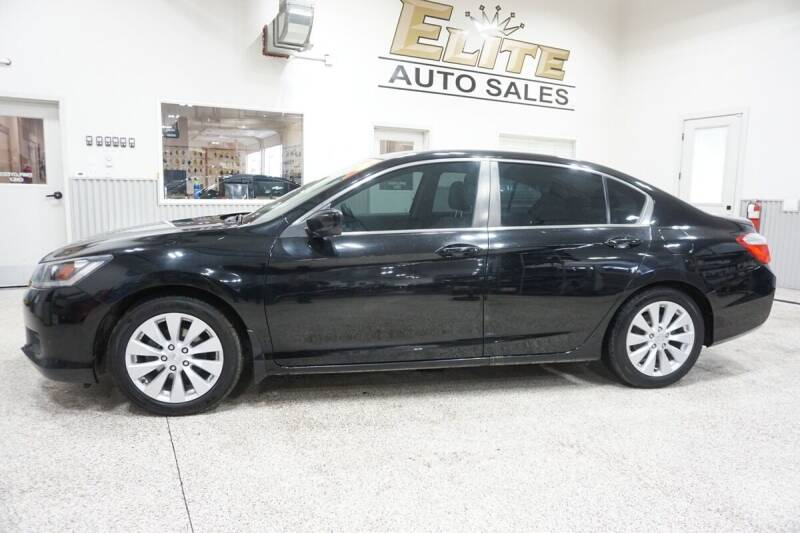 2014 Honda Accord for sale at Elite Auto Sales in Ammon ID