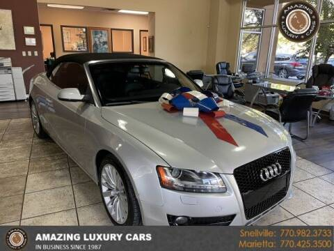 2012 Audi A5 for sale at Amazing Luxury Cars in Snellville GA
