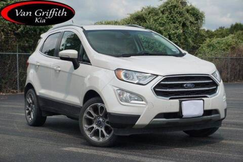 2018 Ford EcoSport for sale at Van Griffith Kia Granbury in Granbury TX