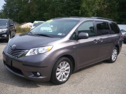 2017 Toyota Sienna for sale at Charlies Auto Village in Pelham NH