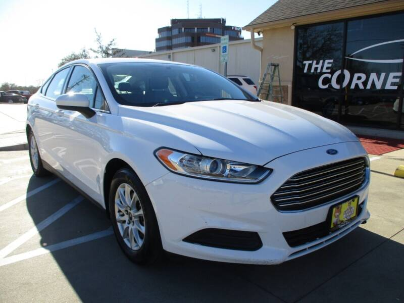 2016 Ford Fusion for sale at Cornerlot.net in Bryan TX