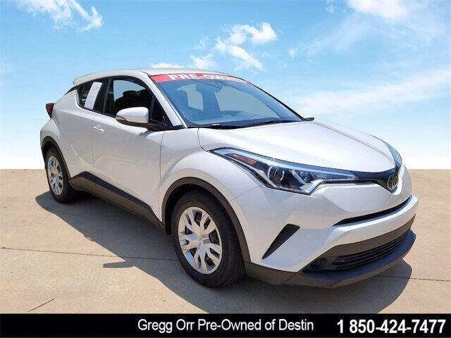 2019 Toyota C-HR for sale at Gregg Orr Pre-Owned of Destin in Destin FL