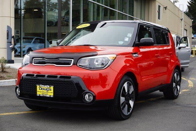 2016 Kia Soul for sale at Jeremy Sells Hyundai in Edmunds WA