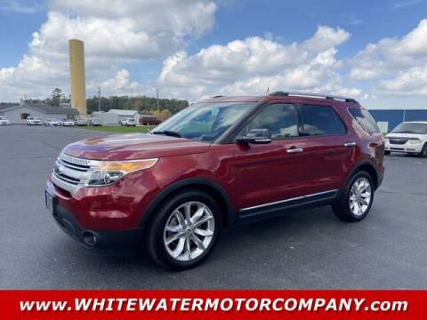 2014 Ford Explorer for sale at WHITEWATER MOTOR CO in Milan IN
