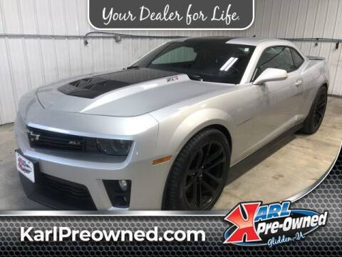 2013 Chevrolet Camaro for sale at Karl Pre-Owned in Glidden IA