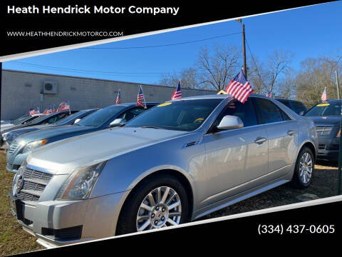 2010 Cadillac CTS for sale at Heath Hendrick Motor Company in Greenville AL