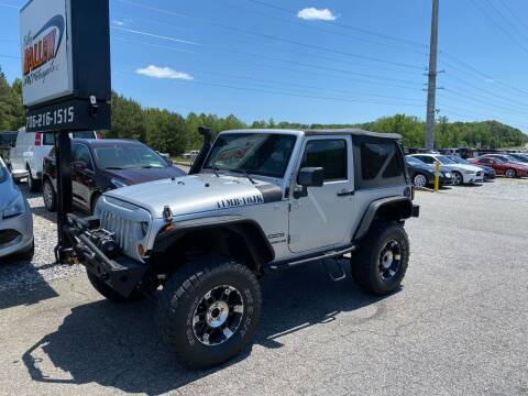 2010 Jeep Wrangler for sale at Billy Ballew Motorsports in Dawsonville GA