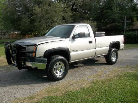 2006 Chevrolet Silverado 2500HD for sale at Hartman's Auto Sales in Victoria TX