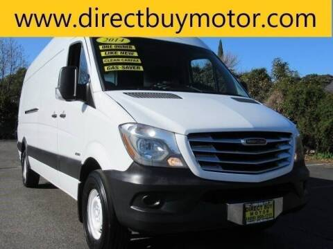 2014 Freightliner Sprinter Cargo for sale at Direct Buy Motor in San Jose CA