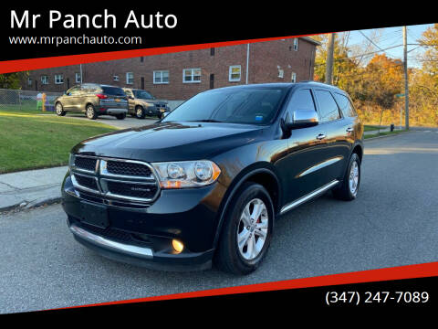2011 Dodge Durango for sale at Mr Panch Auto in Staten Island NY