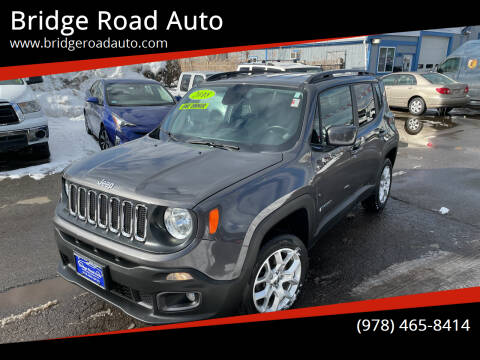 2018 Jeep Renegade for sale at Bridge Road Auto in Salisbury MA