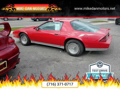 1984 Chevrolet Camaro for sale at Mike Dan Motors in Niagara Falls NY