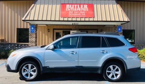 2014 Subaru Outback for sale at Butler Enterprises in Savannah GA