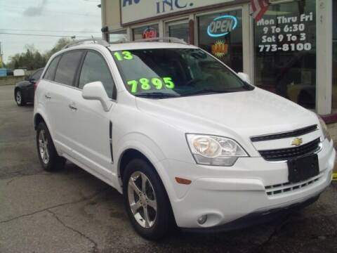 2013 Chevrolet Captiva Sport for sale at G & L Auto Sales Inc in Roseville MI
