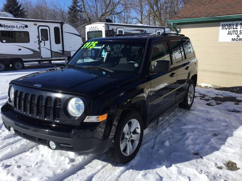 2014 Jeep Patriot for sale at Mobile-tronics Auto Sales in Kenockee MI