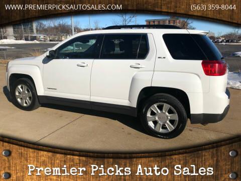 2013 GMC Terrain for sale at Premier Picks Auto Sales in Bettendorf IA