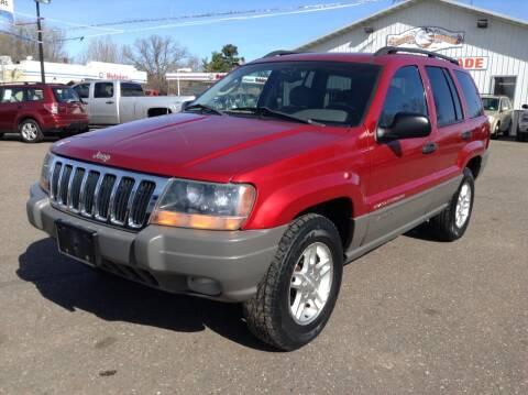 2002 Jeep Grand Cherokee for sale at Steves Auto Sales in Cambridge MN