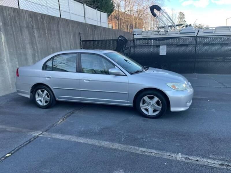 2004 Honda Civic for sale at A&Q Auto Sales in Gainesville GA