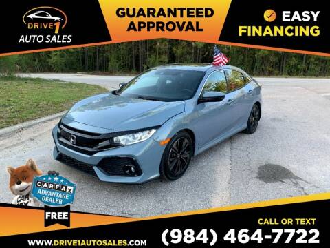 2019 Honda Civic for sale at Drive 1 Auto Sales in Wake Forest NC