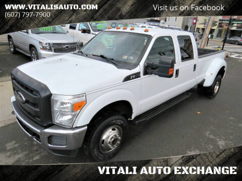 2012 Ford F-350 Super Duty for sale at VITALI AUTO EXCHANGE in Johnson City NY