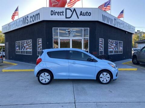 2016 Chevrolet Spark for sale at Direct Auto in D'Iberville MS