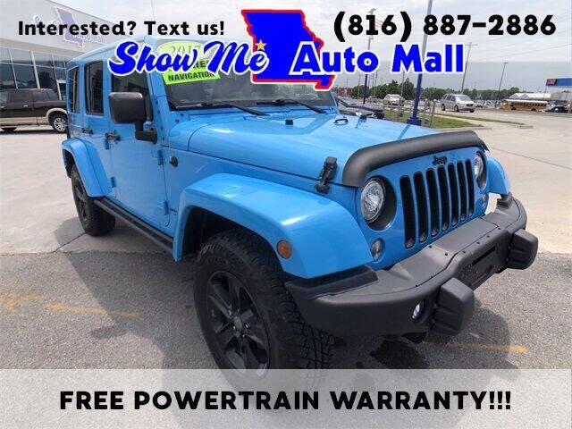 2017 Jeep Wrangler Unlimited for sale at Show Me Auto Mall in Harrisonville MO