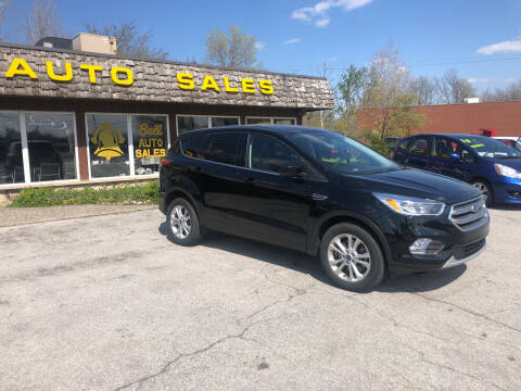 2017 Ford Escape for sale at BELL AUTO & TRUCK SALES in Fort Wayne IN