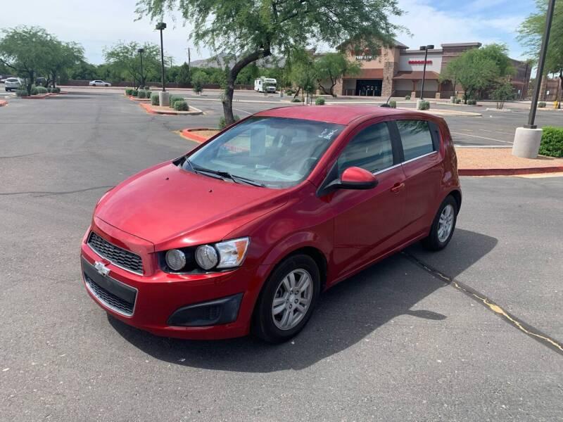 2015 Chevrolet Sonic for sale at San Tan Motors in Queen Creek AZ