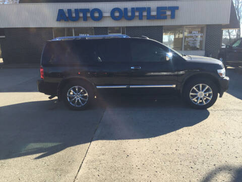 2010 Infiniti QX56 for sale at Truck and Auto Outlet in Excelsior Springs MO
