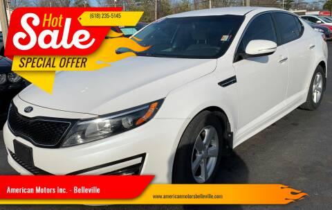 2014 Kia Optima for sale at American Motors Inc. - Belleville in Belleville IL