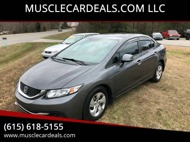 2013 Honda Civic for sale at MUSCLECARDEALS.COM LLC - 4 in White Bluff TN