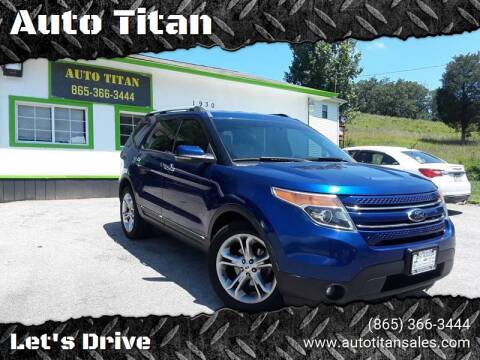 2013 Ford Explorer for sale at Auto Titan in Knoxville TN