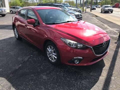 2014 Mazda MAZDA3 for sale at Rinaldi Auto Sales Inc in Taylor PA