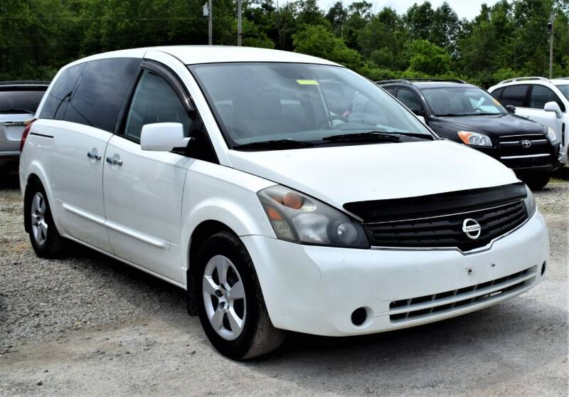 2008 Nissan Quest for sale at PINNACLE ROAD AUTOMOTIVE LLC in Moraine OH