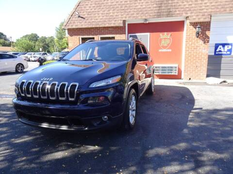 2015 Jeep Cherokee for sale at AP Automotive in Cary NC
