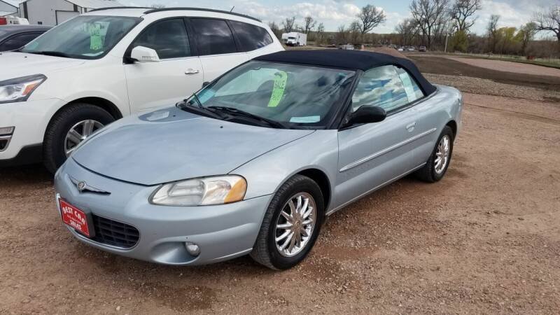 2001 Chrysler Sebring for sale at Best Car Sales in Rapid City SD