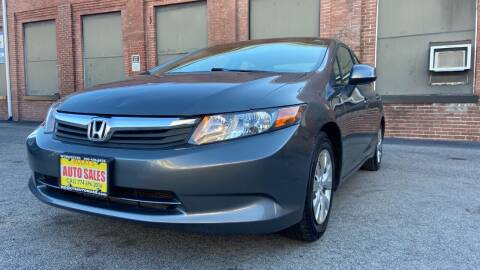 2012 Honda Civic for sale at Rocky's Auto Sales in Worcester MA