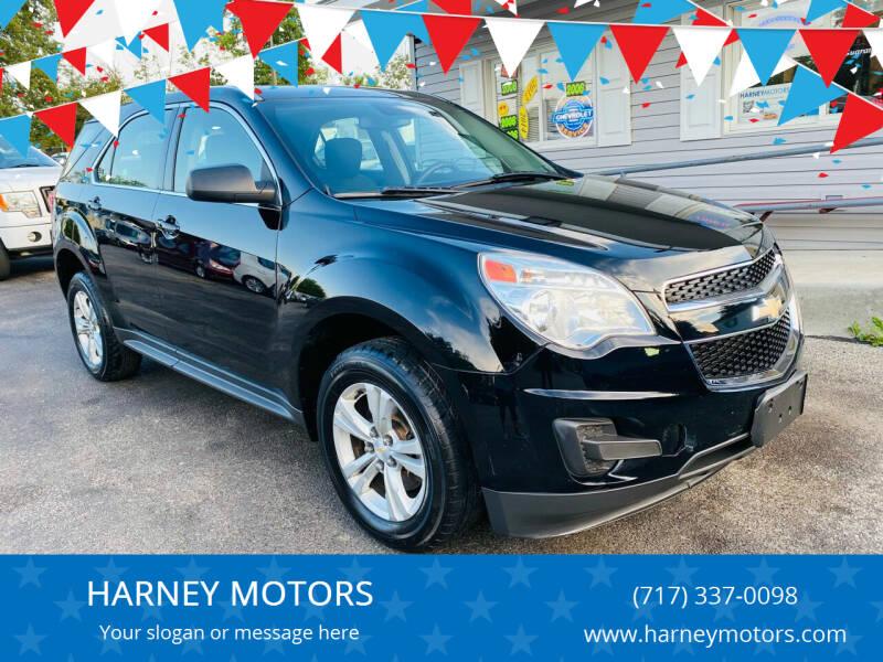 2015 Chevrolet Equinox for sale at HARNEY MOTORS in Gettysburg PA