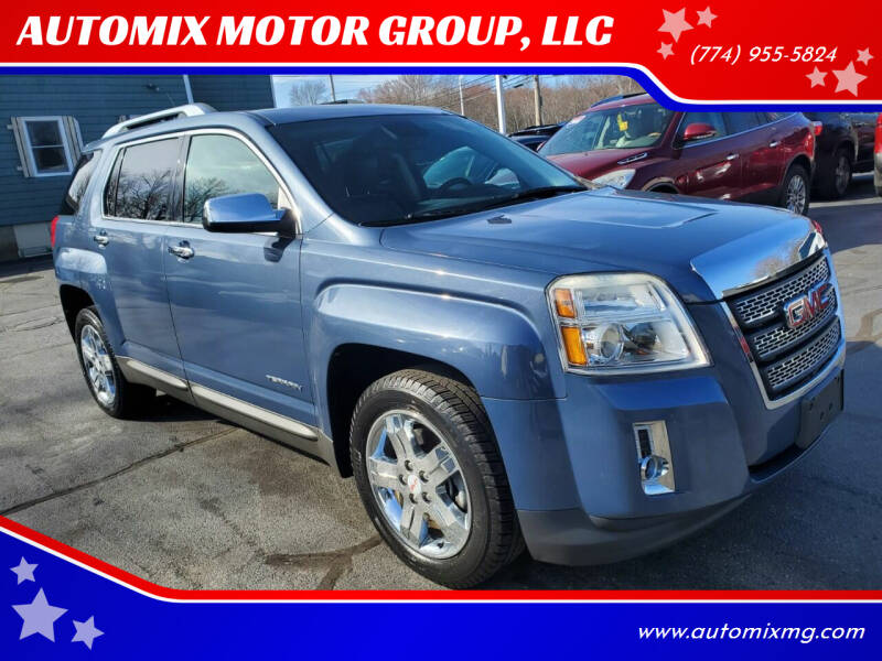 2012 GMC Terrain for sale at AUTOMIX MOTOR GROUP, LLC in Swansea MA