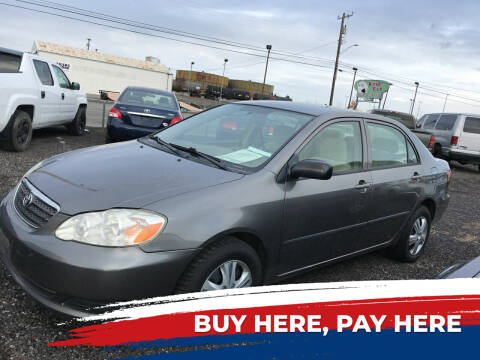 2005 Toyota Corolla for sale at 2 Way Auto Sales in Spokane Valley WA