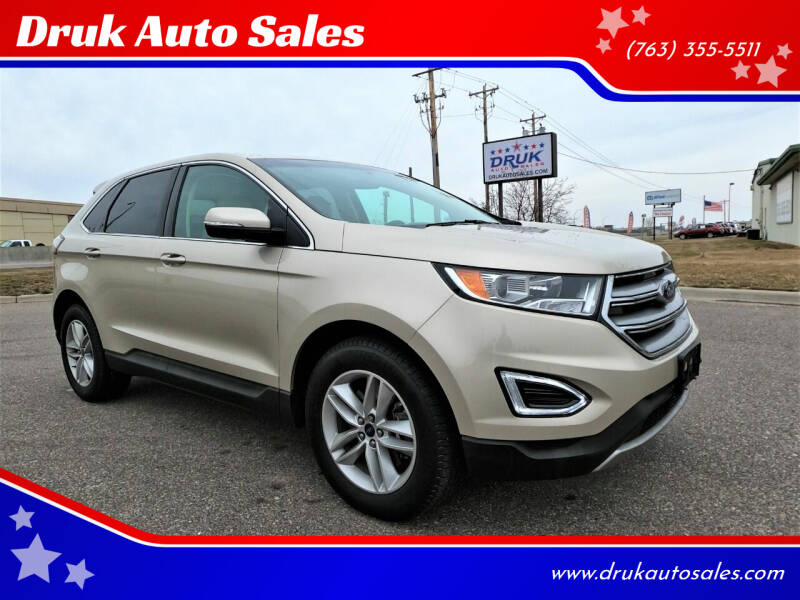 2018 Ford Edge for sale at Druk Auto Sales in Ramsey MN