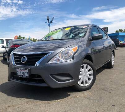 2018 Nissan Versa for sale at LUGO AUTO GROUP in Sacramento CA