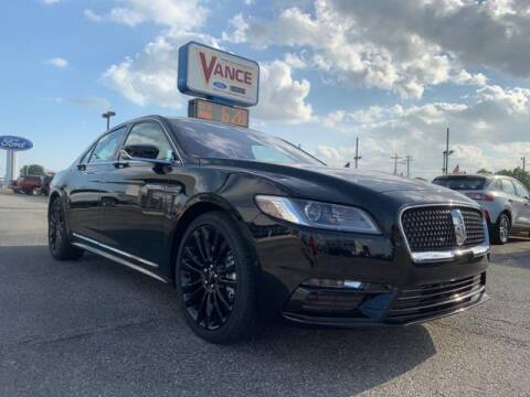 2020 Lincoln Continental for sale at Vance Fleet Services in Guthrie OK