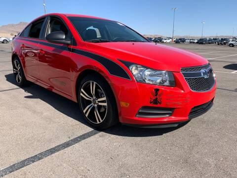2014 Chevrolet Cruze for sale at Boktor Motors in Las Vegas NV